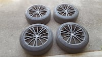 Scion FRS/BRZ stock rims and tires 215/45/R17 Toronto, M2J 4S4
