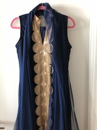 Navy Blue Indian suit - bought for $120, tried on but never worn!  Toronto, M5E 2A1