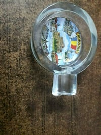 Romania ciger ash tray special glass and happy man Bengaluru, 560092