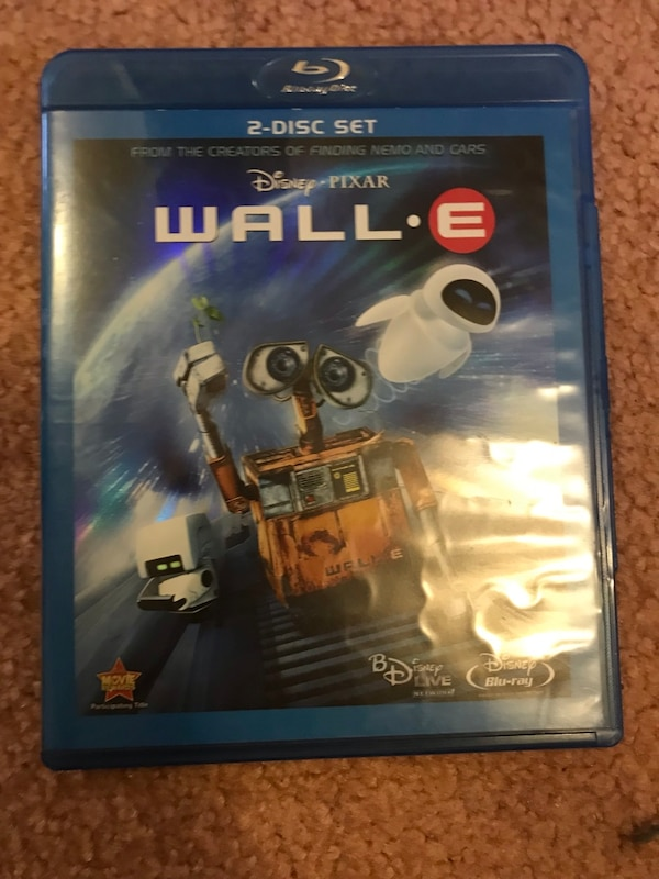 Wall-e Blu-ray and dvd