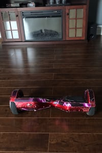 Hover board (red with lighting stickers) Toronto, M4B 2C4