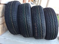 set of 4 tires winter brand new tires size 225/65/R17 558 km
