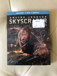 Skyscraper DVD/blu-ray/digital copy Brand new and sealed  Vaughan, L4H 2S8