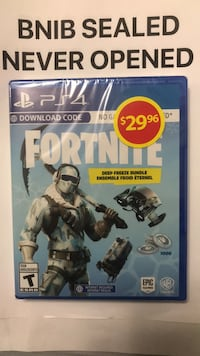 Sony ps4 fortnite deep freeze bundle Brampton, L7A 2Z3