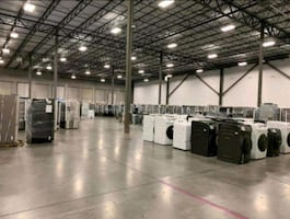 Bulk liquidation sale appliances