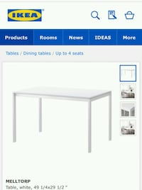 Ikea kitchen table and 3 chairs Montréal, H8Z 2R3