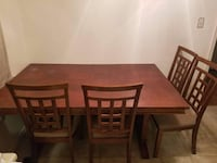 Dining Room Table with Cabinet DESMOINES