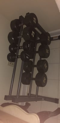 weights including rack  Herndon, 20171