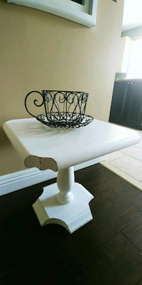 White Accent Table Whitby