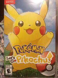 Pokemon let's go pikachu Nintendo switch for sale or trade  Mississauga, L4Y 3A5