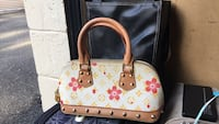 pink and brown Louis Vuitton leather handbag Annandale, 22003