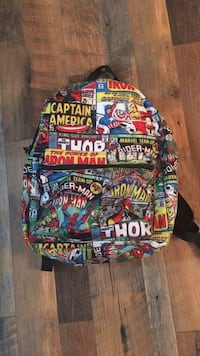 Marvel bookbag. Excellent condition.  Sumter, 29154