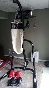 Punching Bag Stand/Access. null