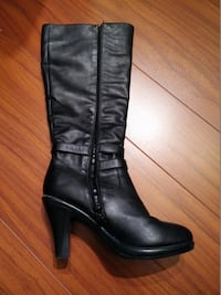 High heel boots size 7-7.5 great condition VANCOUVER