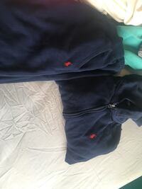 Dark blue polo tracksuit