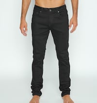 Men's black jeans eight X stretchy skinny super comfortable all sizes come in today  Los Angeles, 90046