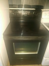 black induction range with oven Temple Hills, 20748