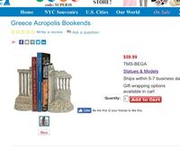 Athens, Greece acropolis bookends Columbia, 21044