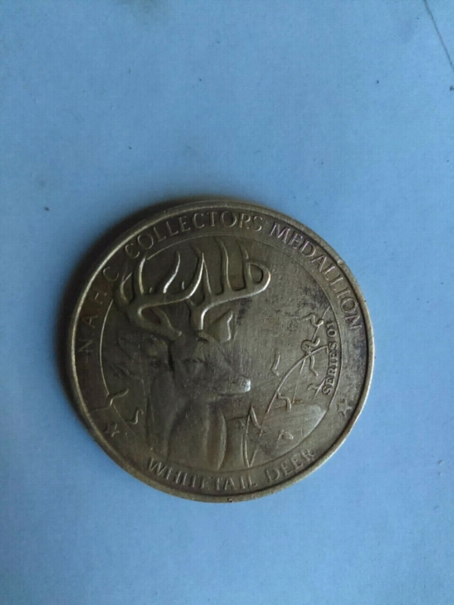 North American Hunting Club Whitetail Deer Big Game Series 01 Medallion Coin