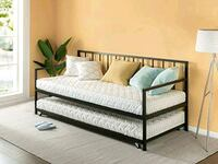 Twin twin metal frame daybed Stockton
