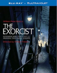 Exorcist Extended and Directors Cut Bluray