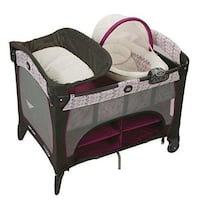 Graco Pack n' Play Changer and Bassinet Clifton, 20124