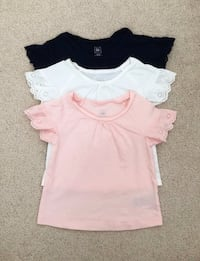 3 babygap tees with lace sleeve size 18-24 months- worn only once Mississauga, L5M 0C5