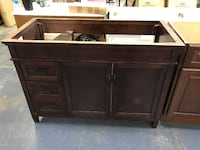 Home Decorators Collection Ashburn 48 in W Bath Vanity Cabinet Only in Mahogany Richardson