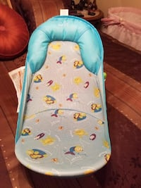Baby's blue and gray fish print bather Sand Springs, 74063
