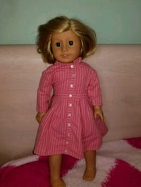 girl doll wearing red dress Des Plaines, 60016