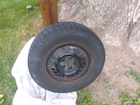black bullet hole vehicle wheel and tire Kitchener, N2B 1M2