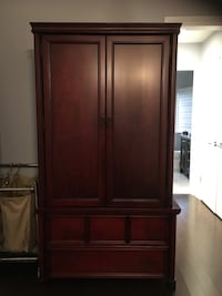 Beautiful Solid wood Armoire priced for quick sale pet free smoke free home Markham, L3P 6B8