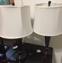 lamp shades - like new condition- $15 each West Des Moines, 50266