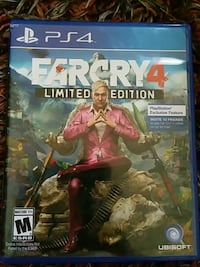 Farcry 4 PS4 game case