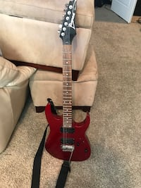 Red electric Ibanez guitar Kuna, 83634