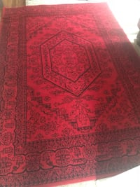 Red and Black oriental rug Arlington, 22209