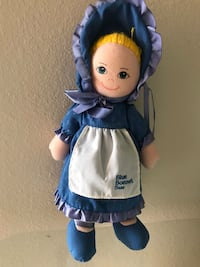 1986 Blue Bonnet Susie Cloth Doll By Dakin Davenport, 33896
