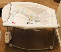 baby's white and gray Fisher Price bouncer Rockville, 20850