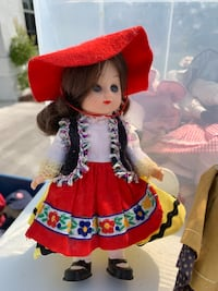 Doll in red and yellow long sleeve dress Port Saint Lucie, 34952
