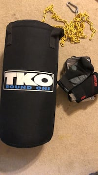 TKO round one junior punching bag with gloves  Lakeland, 33813