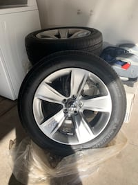 Brand new rims and tires from my 2018 Dodge Charger Las Vegas