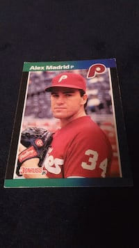 1989 Donruss Alex Madrid RARE #604 Omaha, 68137