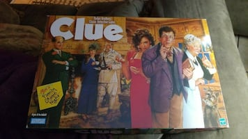 Brand new clue game brand new with all pieces