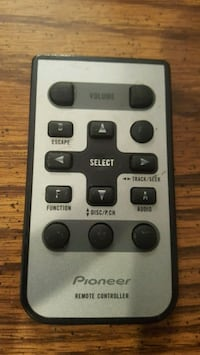 Pioneer CD player remote control.
