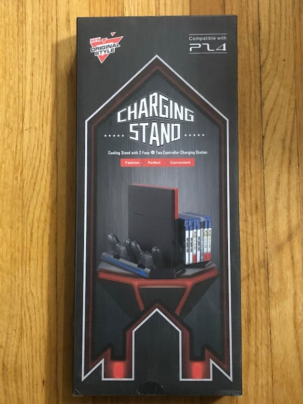 Ps4 Cooling/Controller Charging Stand 87c23527-986a-497c-96e6-7fdc5a263478
