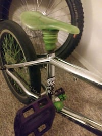 green and black BMX bike 3491 km
