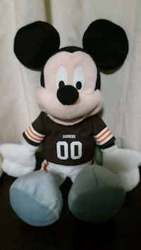 Official NFL Disney browns plush Mickey Mouse  Zanesville, 43701