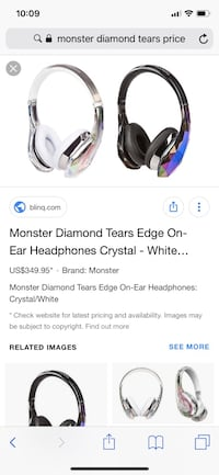 monster diamond tears edge( no box) Halifax, B3M 3W5