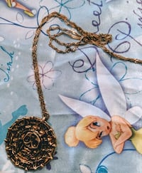 gold-colored pendant necklace Ooltewah, 37363