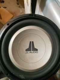 black and gray JL Audio subwoofer Queens, 11422